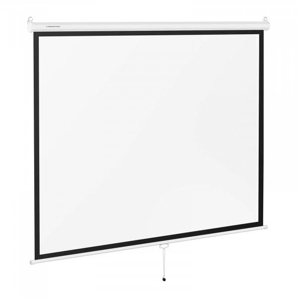 B-termék Projektor vászon - 211 x 161 cm - 4:3