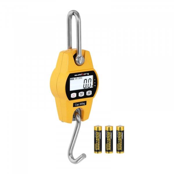 B-termék Darumérleg - 300 kg / 100 g - LCD - sárga