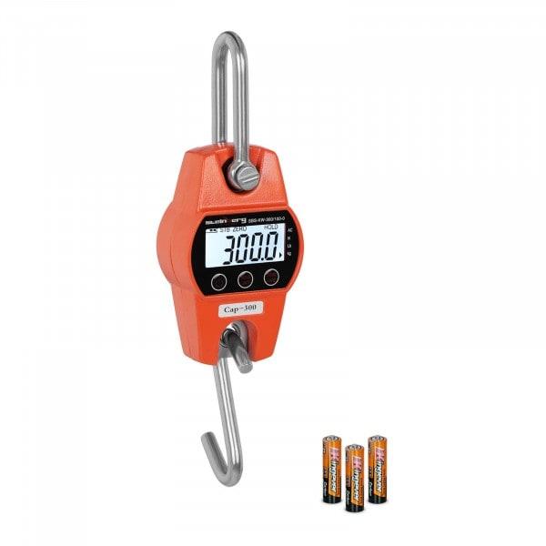 Függeszthető darumérleg - 300 kg/100 g - narancssárga