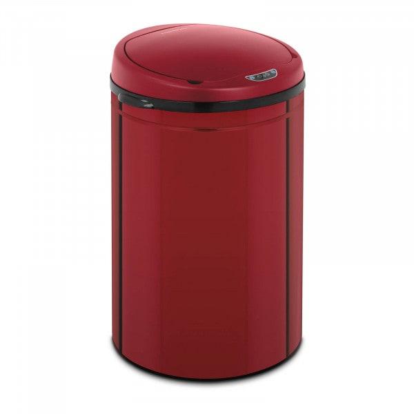 B-termék Szenzoros szemetes - 30 L - piros - belső tartály - szénacél