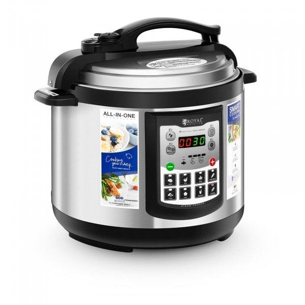 B-termék Multifunkcionális főzőedény - 5 liter - 900 W