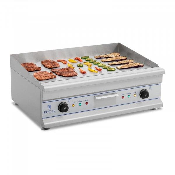 B-termék Elektromos grill – 72,5 cm - sima felületű - 2 x 3,2 kW