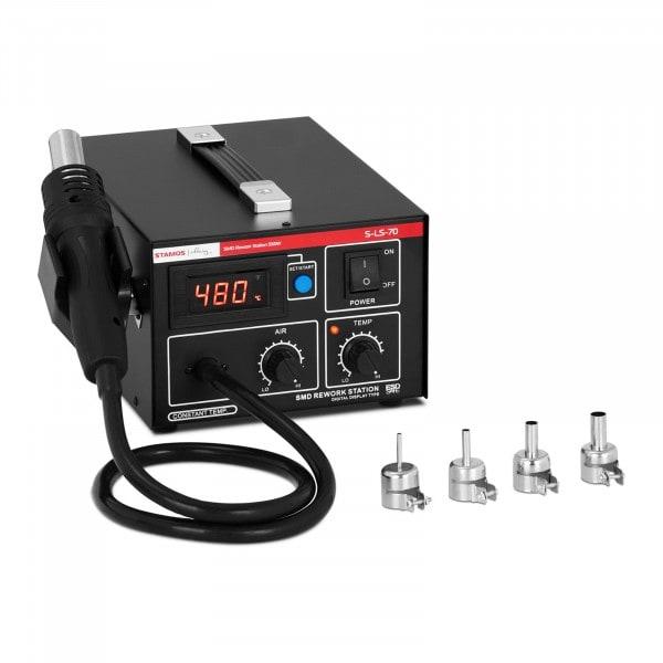 B-termék Forrasztóállomás - forrólevegős pákával - 550 W - LED-kijelző