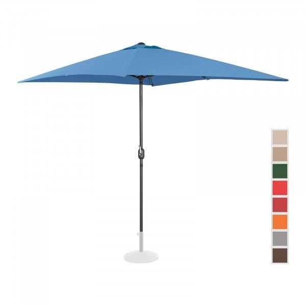B-termék Nagy napernyő - kék - szögletes - 200 x 300 cm