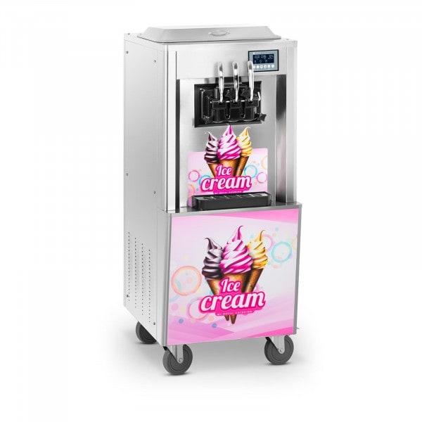 B-termék Lágyfagylaltgép - 2.000 W - 2 x 8,5 L - 23 L / h