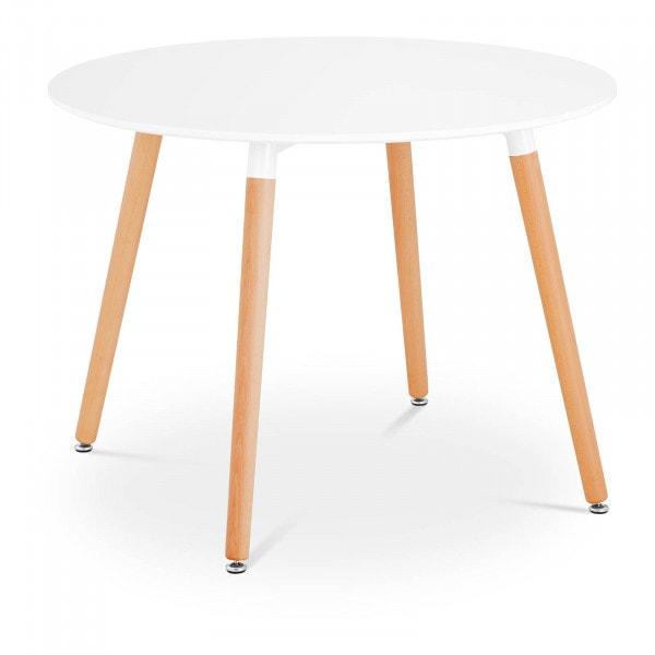 B-termék Asztal - kerek - Ø 100 cm - fehér