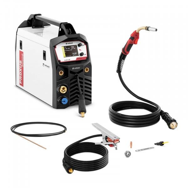B-termék MIG/MAG hegesztőgép - 200 A - Synergic Pulse - E-Hand