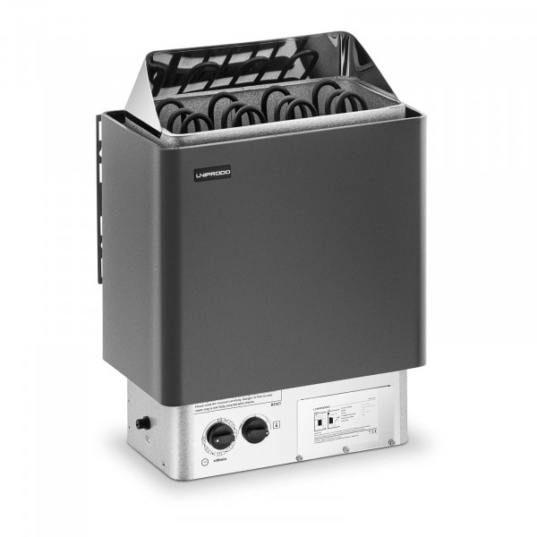 B-termék Szauna kályha - 6,0 kW - 30 - 110 °C - vezérlővel