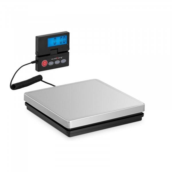 B-termék Digitális csomagmérleg - 50 kg / 10 g - 25 x 25 cm - külső LCD