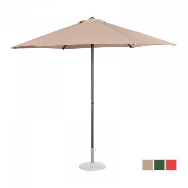 B-termék Nagy napernyő - krémszínű - hatszögletű - Ø 270 cm