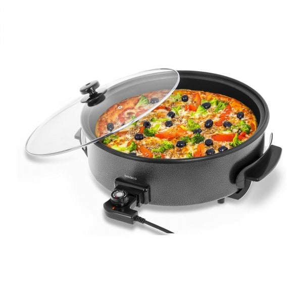 B-termék Elektromos pizza serpenyő - Ø 40 cm - 9 cm magas perem