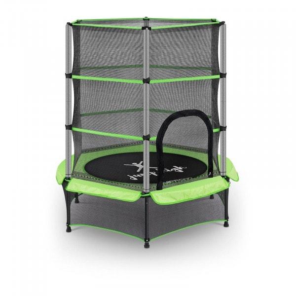 B-termék Gyermek trambulin - biztonsági hálóval - 140 cm - 50 kg - zöld