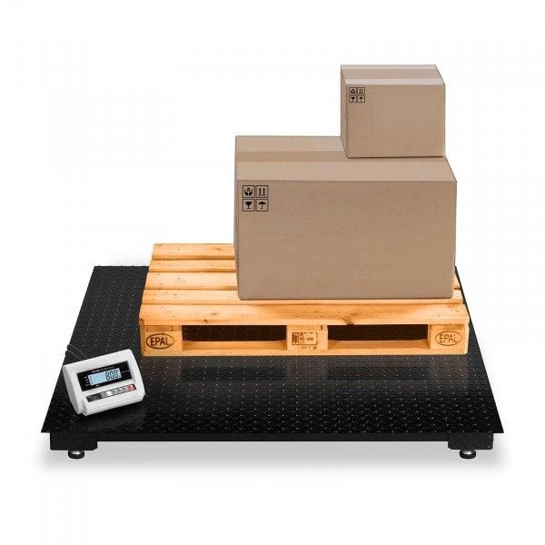 B-WARE Padlómérleg - 3 t / 1 kg - LCD