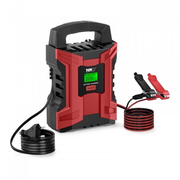 B-termék Akkumulátor töltő - 6/12 V - 2/10 A - LCD kijelző