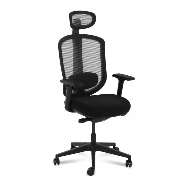 B-termék Irodai szék - háló hátul - fej és gerinctámasz - 150 kg