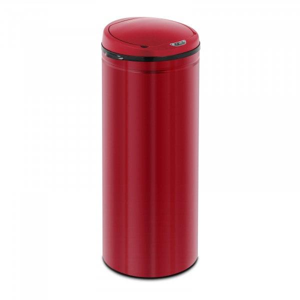 B-termék Szenzoros szemetes - 50 L - piros - belső tartály - szénacél