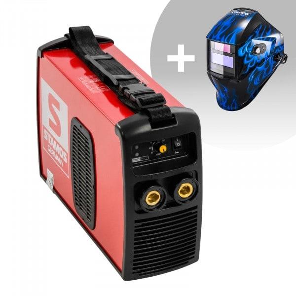Hegesztő készlet MMA hegesztőgép - 180 A - 230 V - IGBT + Hegesztő sisak - Sub Zero - EASY SERIES