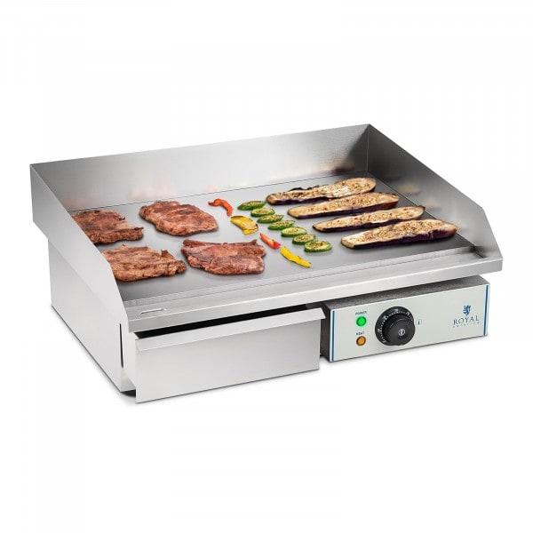 Elektromos grill lap - 55 cm - sima - 1 x 3,0 kW