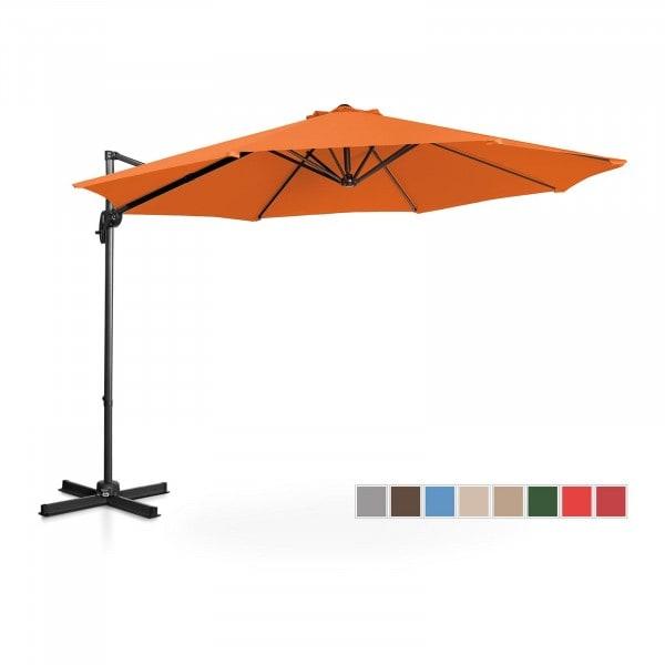 B-termék Lámpa formájú napernyő - narancssárga - kerek - Ø 300 cm - forgatható