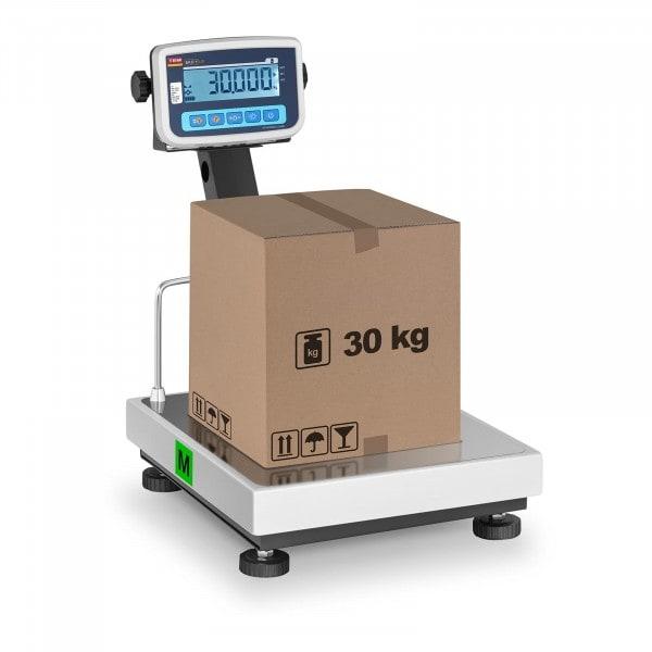 B-termék Platform mérleg - hitelesített- 30 kg / 10 g