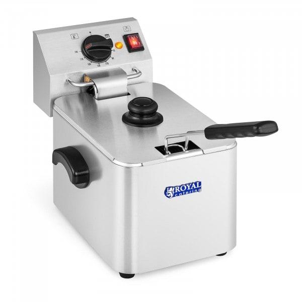Elektromos olajsütő - 8 liter - EGO termosztát