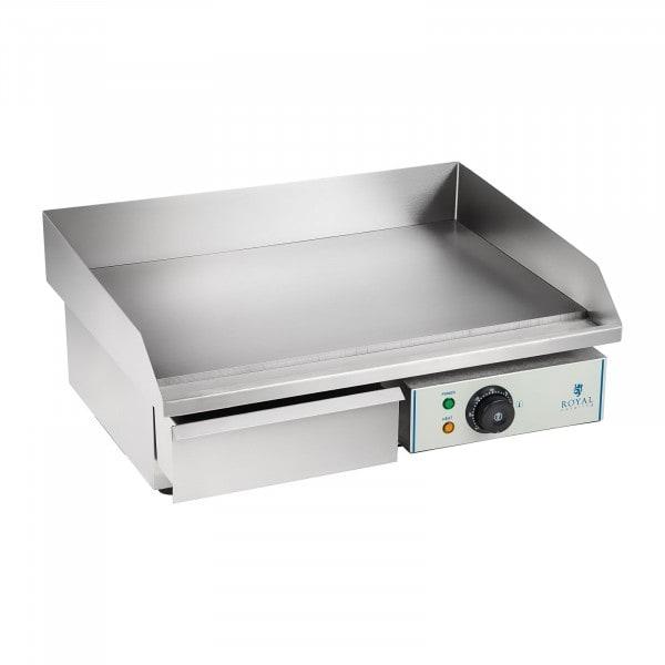 B-termék Elektromos grill lap - 55 cm - sima - 1 x 3,0 kW