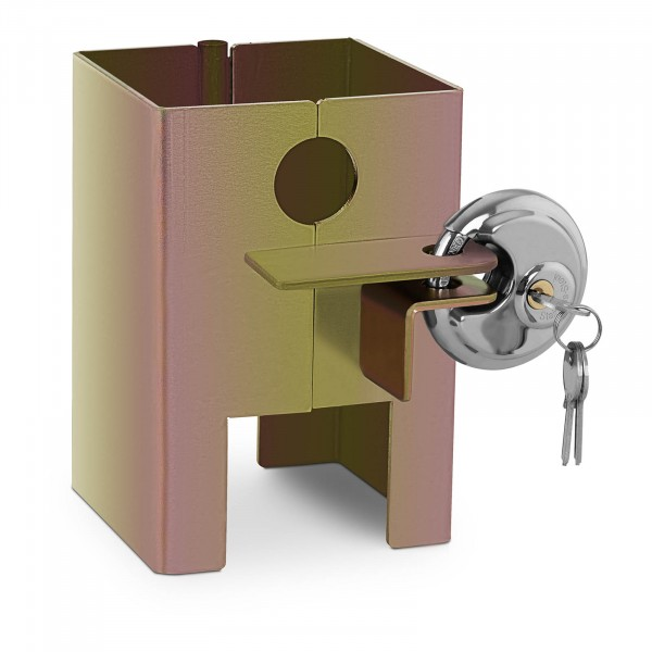 B-termék Pótkocsi zár - 3 kulcs