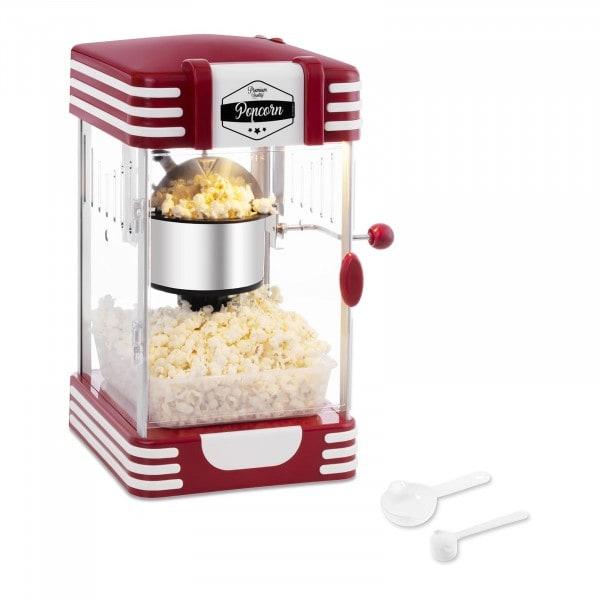 B-termék Popcorn készítő gép - 50-es évekbeli retro design - piros