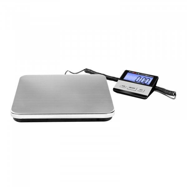 Digitális csomagmérleg - 200 kg / 50 g - Basic - külső LCD