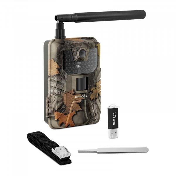 B-termék Vadkamera - 8 MP - Full HD - 44 IR-LED - 20 m - 0,3 mp - LTE GSM-erősítővel