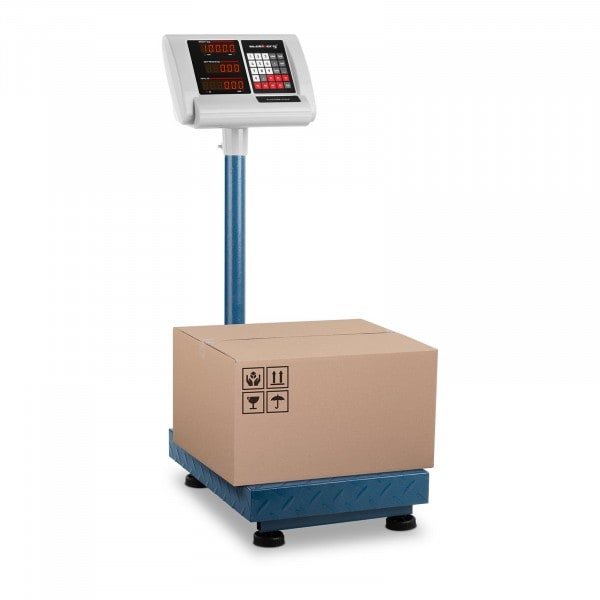 B-termék Platform mérleg - 100 kg / 10 g - 40 x 30 cm - kompakt