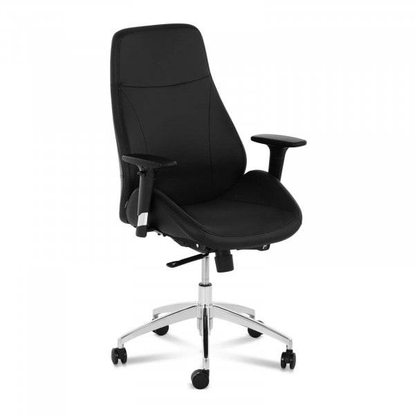 B-termék Irodai szék - főnöki szék - műbőr - króm - 150 kg