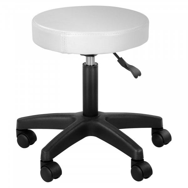 Gurulós szék SIMPLEX  fehér