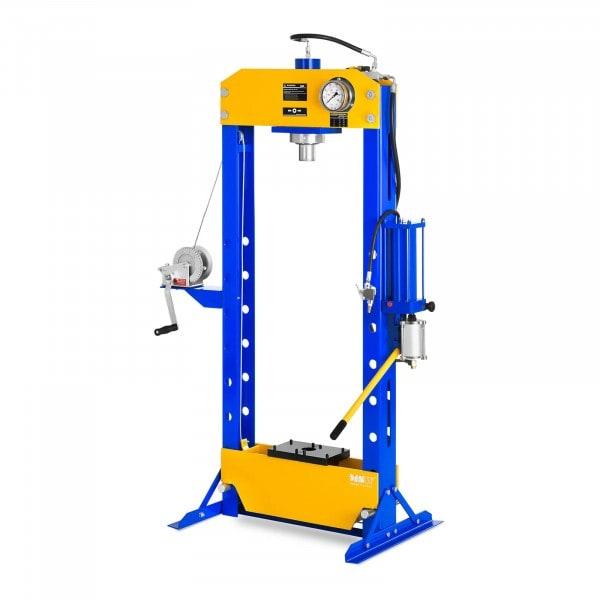 Hidro-pneumatikus műhelyprés - 30 tonna nyomóerő